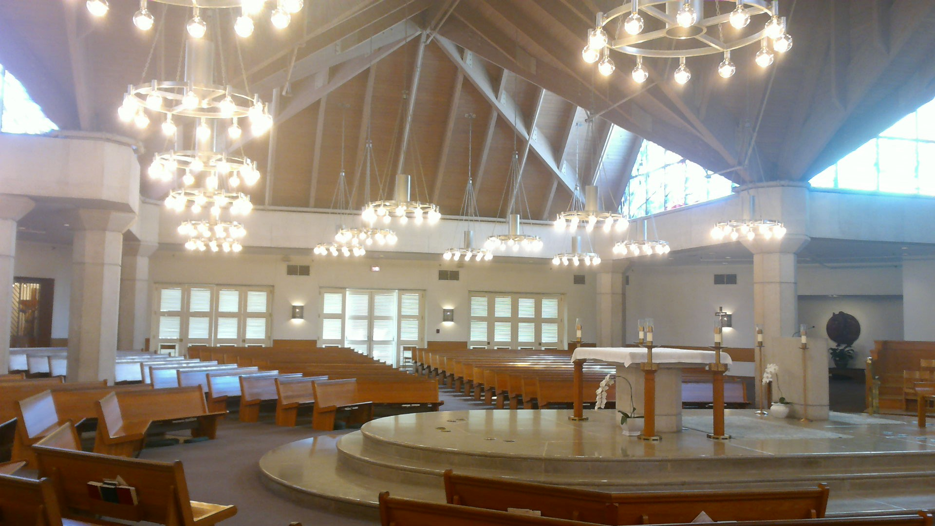 New Chandeliers At St Rita S Catholic Church Aamsco
