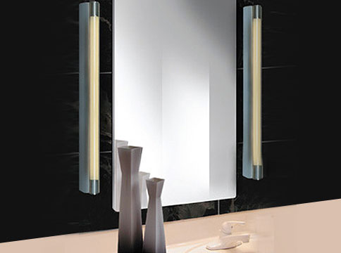 Introducing alinea 9200 the latest addition to aamsco lightings collection of energy saving bath and vanity