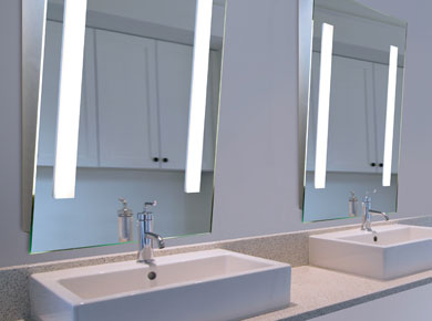 Led Backlit Illuminated Mirrors Aamsco Lighting