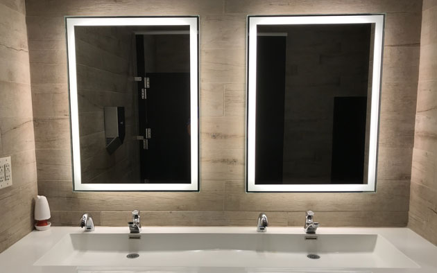 Forte LED Backlit Mirror