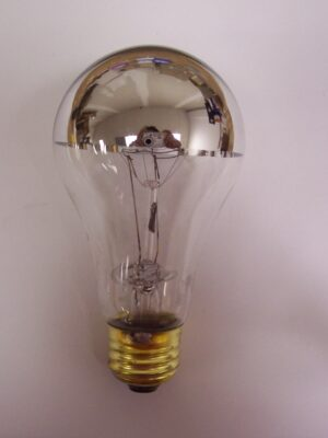 100A-SB Silver Bowl Incandescent Lamp