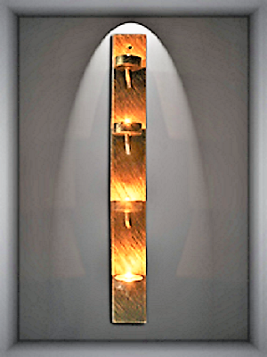 Candle Lamp W9 Wall Sconce Five Light With Cord Aamsco