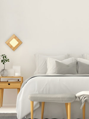 FOTO WOOD OLED WALL SCONCE