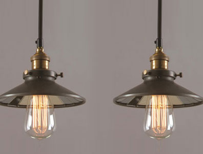 Antique Light Fixtures Ferrowatt