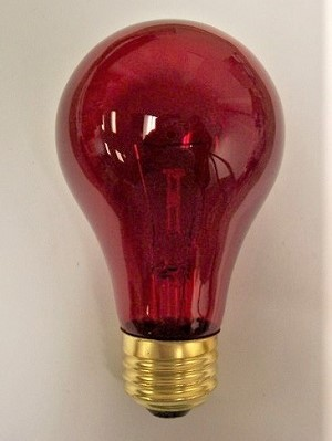 100AR Incandescent Household Lamp 100W Red